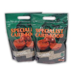 Пелетс Mistral Baits Red Agressor Feed Pellets 6mm 900 гр.