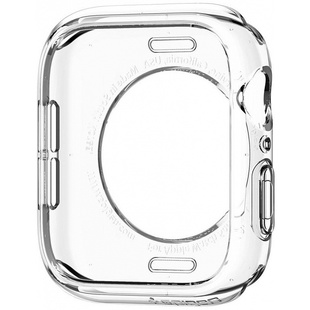 Чехол для Apple Watch 4 44mm (Spigen Liquid Crystal 062CS24473) (прозрачный)