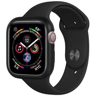 Чехол для Apple Watch series 4 44mm (COTEetCI Aluminium Magnet Case CS7058-BK) (черный)