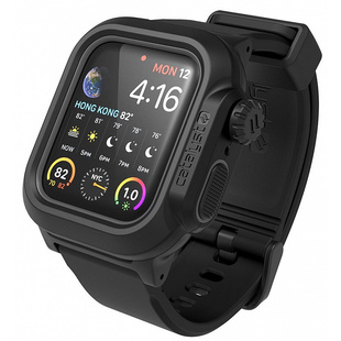 Чехол для Apple Watch Series 4 40mm (Catalyst Waterproof Case CAT40WAT4BLK) (черный)