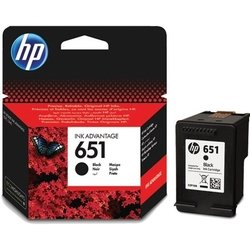 Картридж для HP DeskJet Ink Advantage 5575, 5645, OfficeJet 202, 252 (HP 651 C2P10AE) (черный)